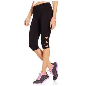 Material Girl Activewear Leggings Black Capri